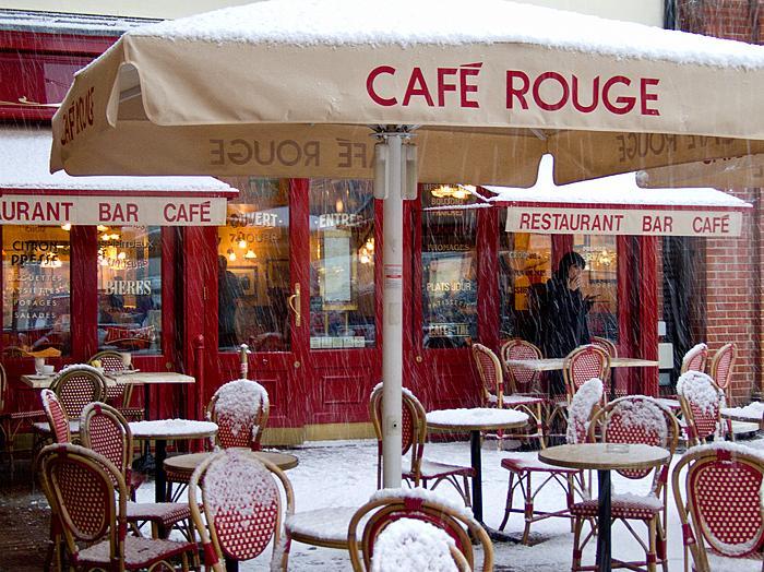 Cafe Rouge Canterbury Christmas Menu