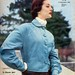 the 1950s-blue blouson jacket