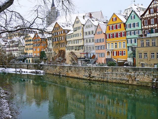 Tübingen, Neckarfront