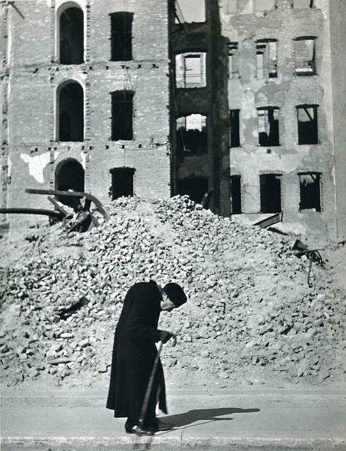 Elderly Hunchback, Vienna, by Ernst Haas