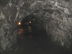 formation, geology, lava tube, cave, caving, darkness, tunnel,