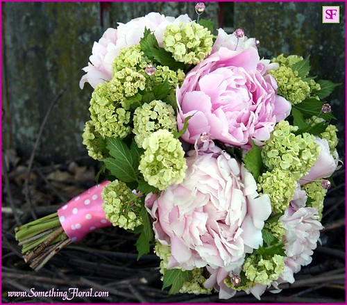 Peony-Bouquet-pink-green