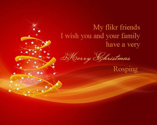 wishing you and yours a very merry christmas