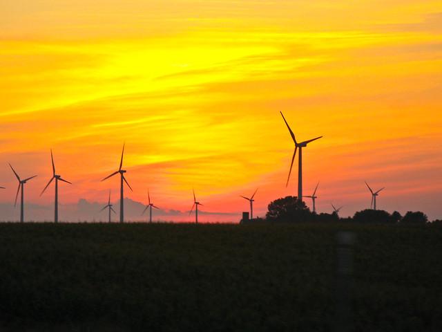 Iowa Wind Farm  Flickr  Photo Sharing