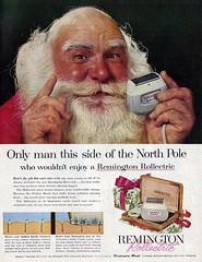 Vintage Ad #1,287: Santa Don't Need No Remington