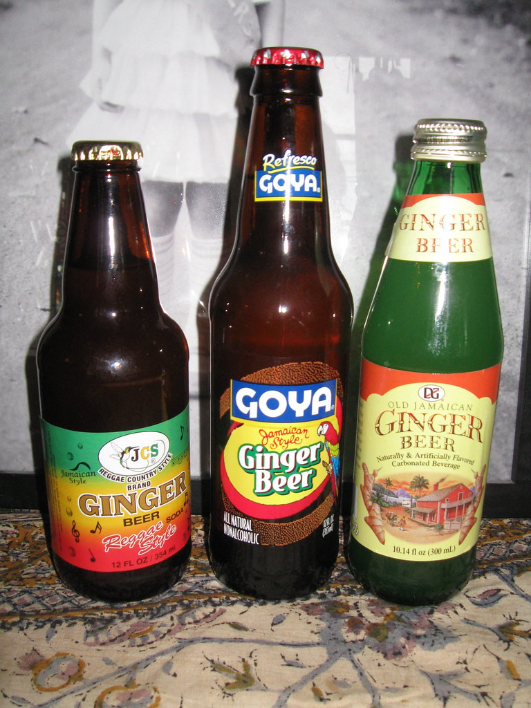 Ginger Beer (three bottles)