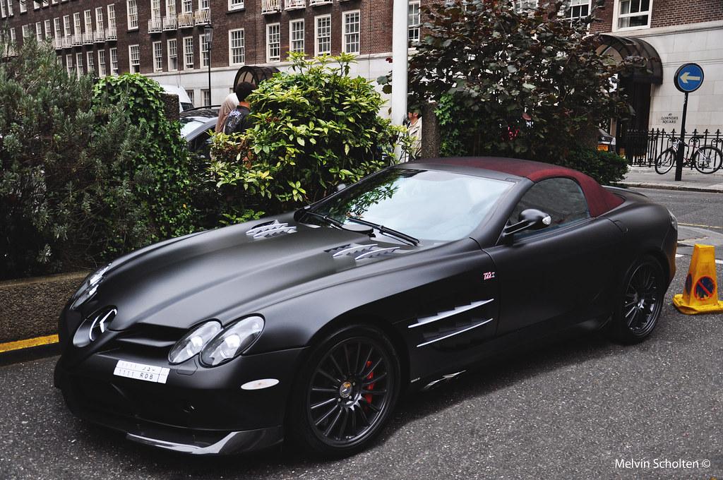 mercedes slr mclaren 722s roadster. | london 2010. | melvin scholten