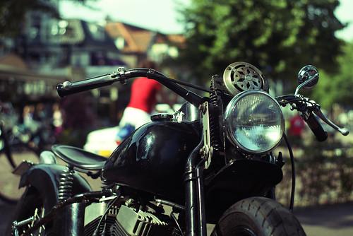 1942 Harley-Davidson WLK by Erik B Photography