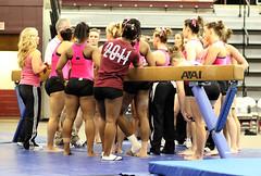 TWU Gymnastics Beam Meeting