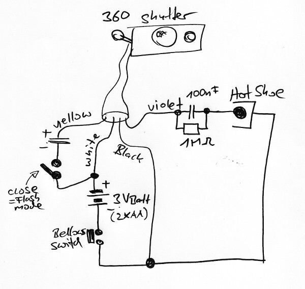 polaroid 360 without flash electronics