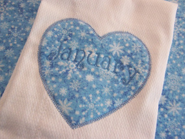 January's Burp Cloth