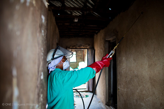Indoor Risidual Spraying (IRS), the application of a residual insecticide to the inner walls of structures where people sleep, has played a significant part in reducing the cases of Malaria in Zanzibar, Tanzania