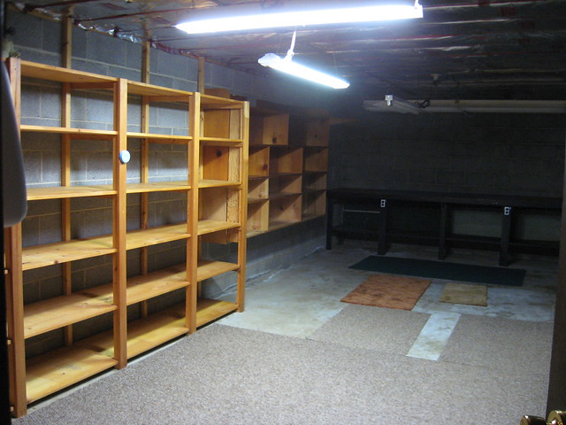unfinished basement storage ideas basement storage ideas for your home homestylediary wise. Black Bedroom Furniture Sets. Home Design Ideas