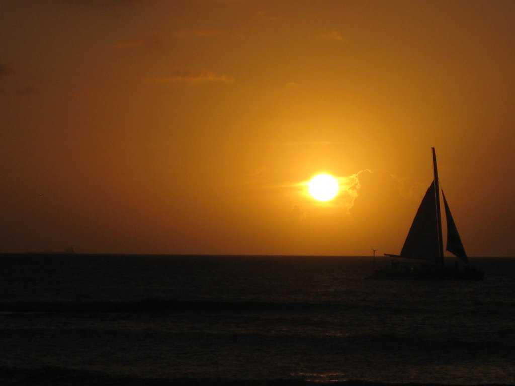 Aruba Sunset at Druif Beach - Divi Tamarijn