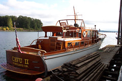 wooden yacht by nwclassicyacht