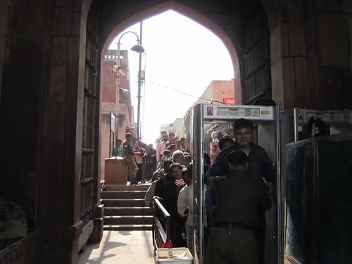 Taj Mahal - Security