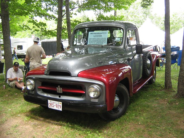 1953 International R-110 pickup | This was among the 1,800 ...