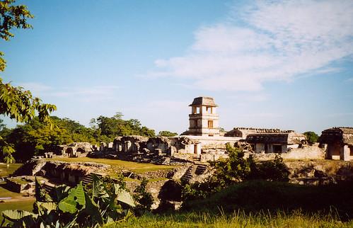 Mexické zastavení 3Palenque, po stopách starých Mayů