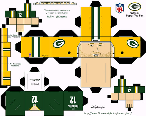 Rodgers PaperToy Template