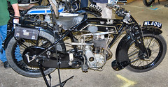 THE SUNBEAM MOTORCYCLE. UK 1920s