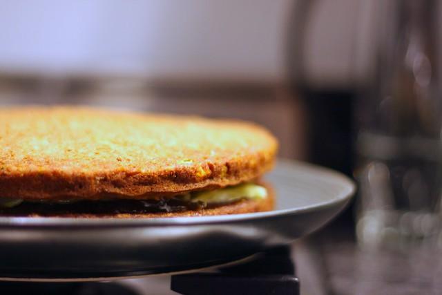 Zucchini Pineapple Sheet Cake