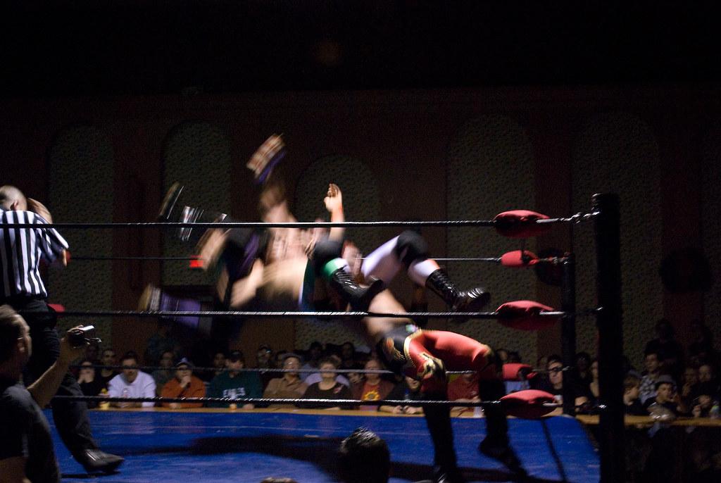 Gala de lutte amateur à Québec