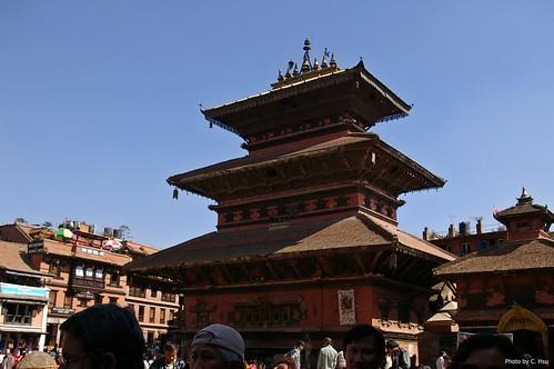 Bhaktapur - Taumadhi Square(陶馬迪廣場)- Bhairabnath Temple(拜拉佛納特廟)