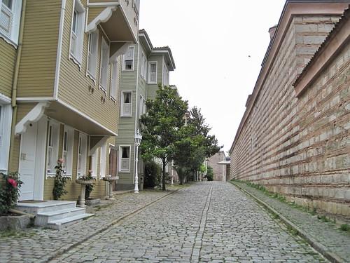 Rue de la fontaine froide - Maisons Ottomanes