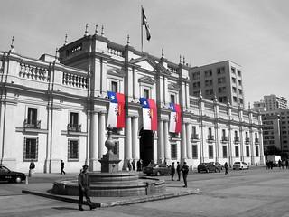 Palacio de la Moneda - Bicentenario chileno