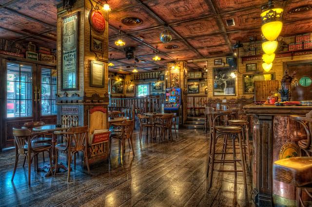Gran Café Zaragozano, Zaragoza (Spain), HDR