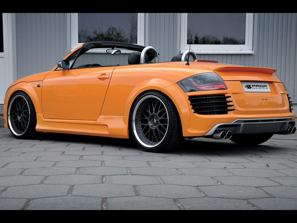 audi tt 8n mk1 body kit r8 conversion rear bumper and diffuser by prior design a photo on. Black Bedroom Furniture Sets. Home Design Ideas