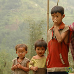 Brothers and a Sister - Lake Khecheopalri to Yuksom, Sikkim