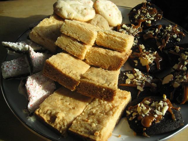 peppermint bark, clementine shortbread, peppermint butter … | Flickr ...