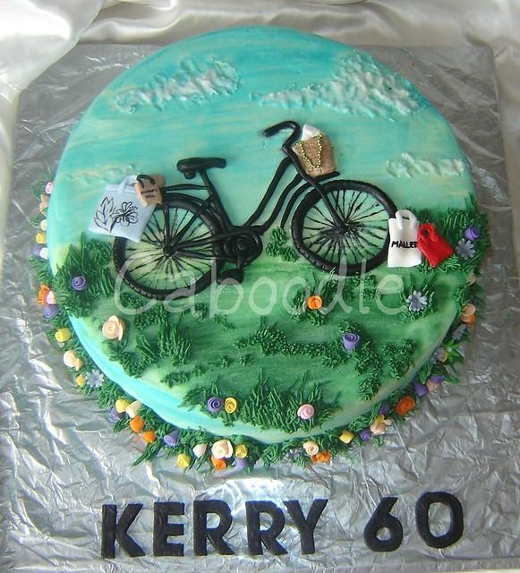 Bike Decoration For Cake : Bicycle Cake on Pinterest Bike Cakes, Mountain Bike Cake ...