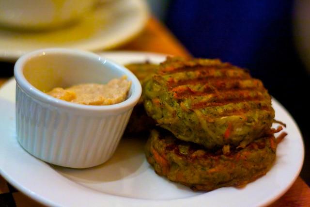 Sacred Chow | Root Vegetable Latkes (Pancakes) 3 latkes with ...