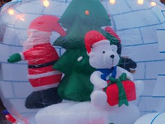 inflatable(0.0), snowman(0.0), textile(1.0), plush(1.0), stuffed toy(1.0), toy(1.0),