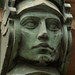 Art Nouveau Stoic Face -  Prague, Czech Republic