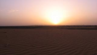 At dawn - watching Algeria