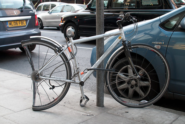 Bonus Photo - Broken Bike
