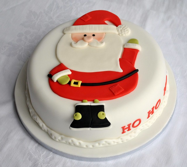 Cake Decorating Father Christmas : Father Christmas Cake Flickr - Photo Sharing!