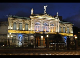 Teatro Nacional at Blue Hour