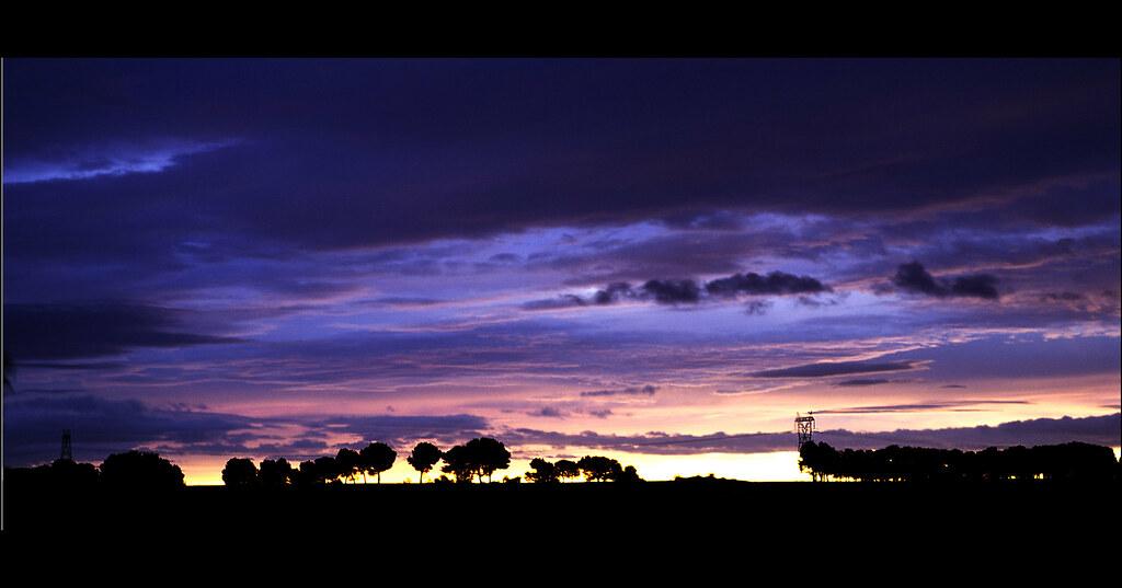 Nubes contra árboles - Robladillo