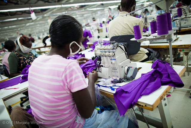 Global Apparel, Ltd, an apparel manufacturing company, exports garments to the U.S. under AGOA