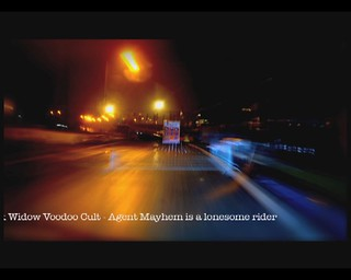 Black Widow Voodoo Cult - Agent Mayhem is a lonesome Rider
