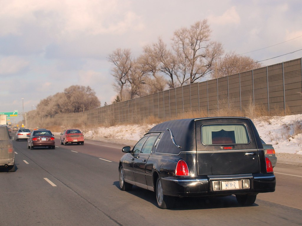 Lincoln Town Car Hearse