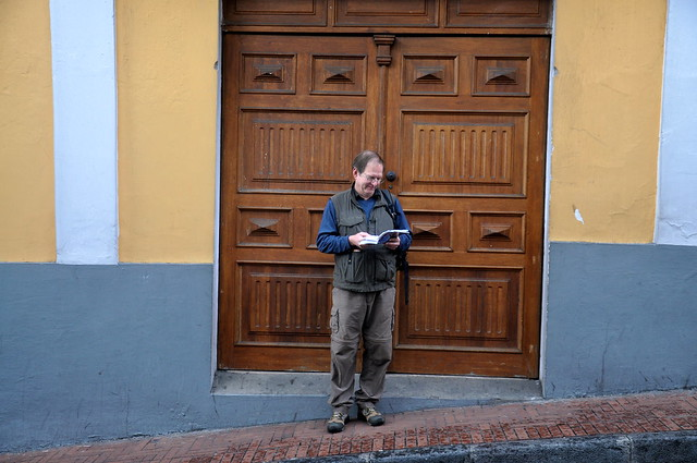 Dad in Quito