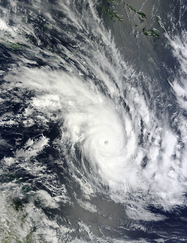 NASA's Terra Satellite Saw Tropical Storm Zelia Fizzling Enroute to New Zealand - 無料写真検索fotoq