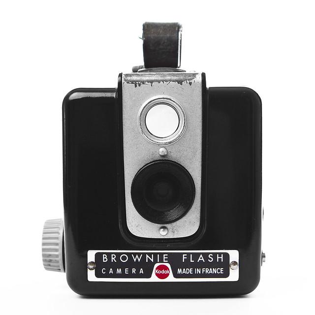 brownie flash camera kodak made in france a photo on flickriver. Black Bedroom Furniture Sets. Home Design Ideas