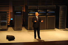 Joe Tucci with EMC family of products