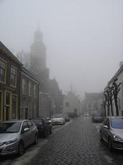 Buren: Herenstraat in Winter